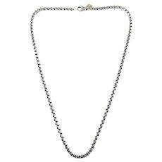 Vintage David Yurman Sterling Silver Necklace