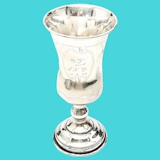 Vintage 84 Sterling Silver Kiddush Cup