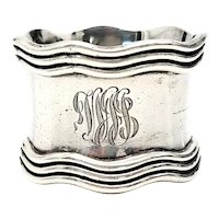 Antique Gorham Sterling Silver Napkin Ring B3540