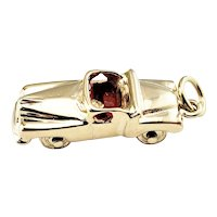 Vintage 14 Karat Yellow Gold Convertible Car Charm