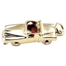 Vintage 14 Karat Yellow Gold Convertible Car Charm