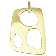 Vintage Ippolita 18 Karat Yellow Gold Pendant