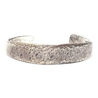 Jes MaHarry Hammered Sterling Silver Cuff Bracelet for 32 Bar Blues