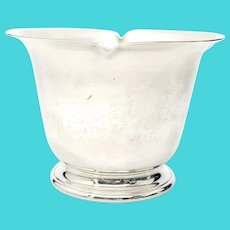 Vintage Georg Jensen USA Sterling Silver Small Flower Bowl