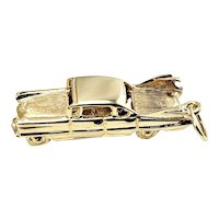 Vintage 14 Karat Yellow Gold Thunderbird Car Charm