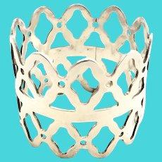 Denmark 936 Sterling Silver Napkin Ring