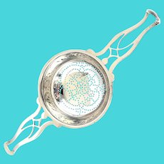 Antique Tiffany & Co Makers 18818 Sterling Silver Tea Strainer