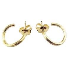 Vintage Marco Bicego Jaipur 18 Karat Yellow Gold Hoop Earrings