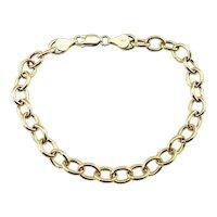 Vintage 14 Karat Yellow Gold Link Bracelet