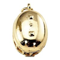 Vintage 14 Karat Yellow Gold Mechanical Mormon Tabernacle Charm