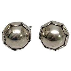 Georg Jensen USA #114 Clip-On Earrings