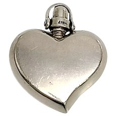 Zina of Beverly Hills Sterling Silver Heart Pendant
