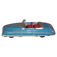 Marx Wind-up tin-litho sedan convertible