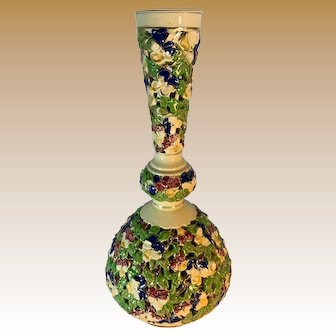 Fischer Pottery Budepest Reticulated Vase