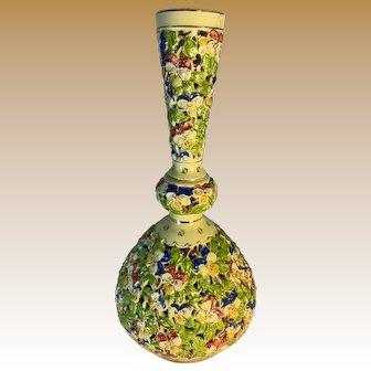 Fischer Pottery Buda pest Reticulated Vase