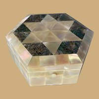 Mother-of-Pearl and Abalone Box