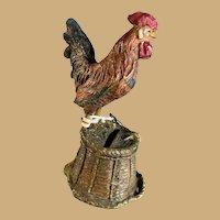 German Composite Chicken/Cockerel Bank