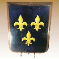 French Heraldic Plaque