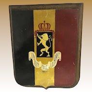 Heraldic Plaque - Belgium