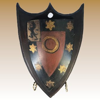 English Heraldic Plaques - St. John's College, Oxford University