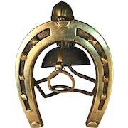 Brass Horseshoe Desk Bill