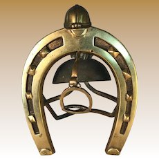 Brass Horseshoe Desk Bill