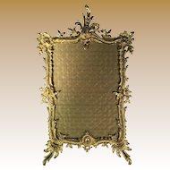 French Ormalu Bronze Frame