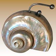 Nautilus Shell Desk Bell