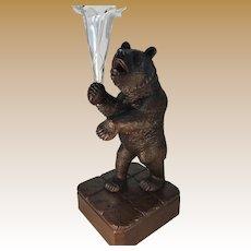 Black Forest Bear Epergne.