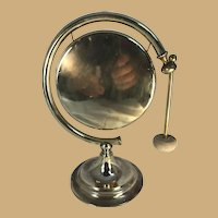 Brass Moon Shaped Gong