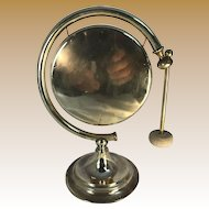 Brass Moon Shaped Gong