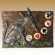Painted Donkey Bridge Trump Marker