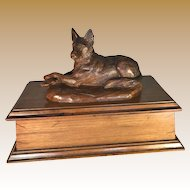 Black Forest German Shepherd Dog Box