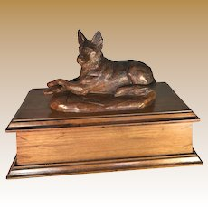 Black Forest German Shepherd Dog Box