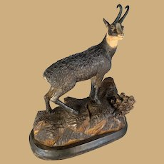 Black Forest Chamois Figure