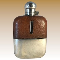 English Sterling Flask - Sheffield 1895, James Dixon