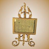 French Gilt Brass Frame