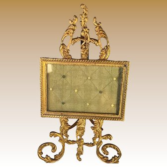French Gilt Brass Frame