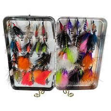 Fly Fishing Flies and Perrine Case