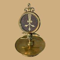 Brass Bird Pocket Watch Holder