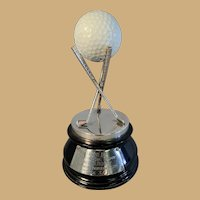 Dunlop Hole-inOne Silver Golf Trophy - Madras Gymkhana Club - 1965