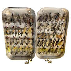 Fly Fishing Flies and Wheatley Case