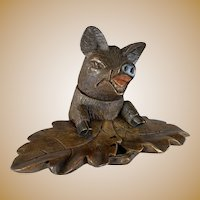 Black Forest Bear Inkwell