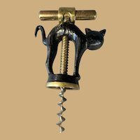 German Black Cat Corkscrew