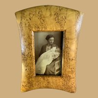Biedermeier Style Birch Frame