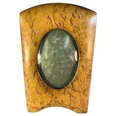 Bierdermeier Style Birch Frame - Sweden - Convex Glass