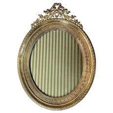 French Gilded Bronze Frame