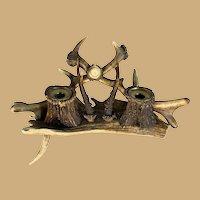 Antler Inkwell - Variety of antlers