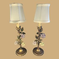 Pair of Boudoir Lamps