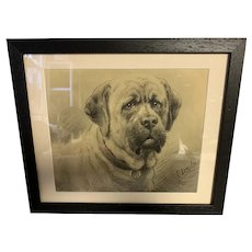Otto Eerelman Mastiff Dog
